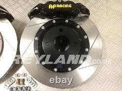 Honda Civic Type R EP3 330mm front brake kit with AP Racing 4 pot calipers