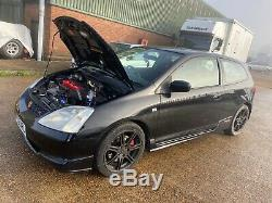 Honda Civic Type R EP3 Fully built turbo conversion 410 bhp All new parts fitted