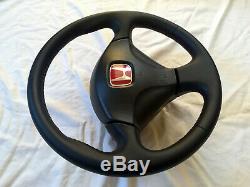Honda Civic Type R EP3 JDM Leather Steering Wheel OEM SRS DC5 RSX CL7 EK3 EK9 SH