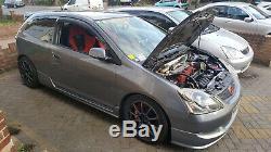 Honda Civic Type R EP3 Turbo 380bhp Premier Edition