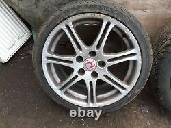 Honda Civic Type R Ep3 17 Alloy Wheels. 5x114 5 X 114.3 3x 205 40 17 tyres