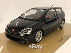 Honda Civic Type R ep3 Black 118 Resin Model Limited Edition DNA