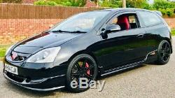 Honda Civic Type R ep3 supercharged