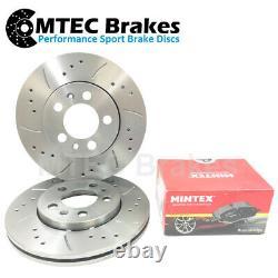 Honda Civic Type S Sport EP2 1.6 01-05 MTEC Front Brake Discs Mintex Pads 5 Stud