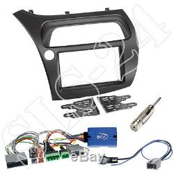 Honda Civic VIII Type R S ab06 2-DIN Radioblende+Antenne+Lenkrad Adapter Pioneer