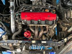 Honda Civic ep2 turbo, type r rep, track car