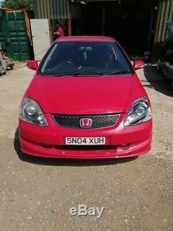 Honda Civic type S R spares or repairs