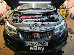 Honda civic type r gt FK2 project running. 1 years mot