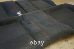 Integra Type R DC2 JDM Rear Recaro Black Seats & Red Stitching EG 2