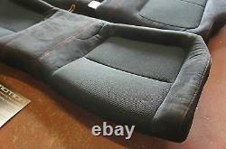 Integra Type R DC2 UKDM Rear Recaro Black Seats & Red Stitching EG 1