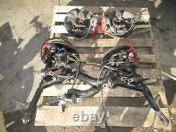 JDM 2002 2005 Honda Civic EP3 Type R Brembo Brakes Slotted Rotors Spindles EP3