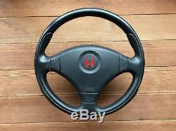 JDM Honda Genuine MOMO Steering Wheel CIVIC TYPE R EK9 B16B from Japan EMS