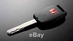 JDM Red H Type R Key Fob Case Back Cover FIT CIVIC ACCORD FA5 FG2 FB6 CRZ OEM