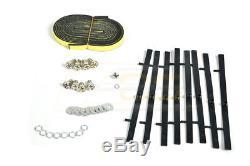 JDM Type R Style Rear Truck Lid Spoiler Wing For 96-00 Honda Civic Hatchback Kit