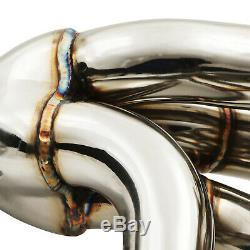 Japspeed Stainless 4-2 Exhaust Manifold For Honda CIVIC Ep3 2.0 Type R 00-05