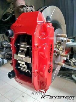 K-SYSTEM. Pro HONDA CIVIC EP3 / FN2 TYPE-R BREMBO 4-POT 324x30 BIG BRAKE KIT
