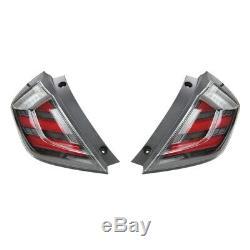Mugen Led Rear Lights Taillights For Honda CIVIC Type R Fk8 Fk7 Sport Etc