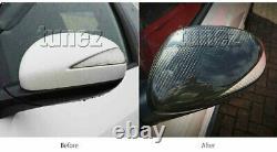 NEW Carbon Fiber Side Mirror Cover Car For Honda Civic FK FN 2006-2011 Type R 2G