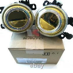NEW JDM Honda CIVIC TYPE R FK8 LED Fog Lamp Yellow Genuine OEM 08V31-E3J-D00