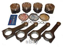Nippon Racing Honda CIVIC Type R Ctr Pistons Scat Rods B18a1 B18b1 Ls Vtec 81mm