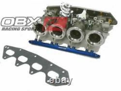 OBX ITB for 1997-01 Integra Type-R B18C5 VTEC Honda 99-00 Civic Si B16