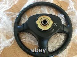 OEM HONDA CIVIC 1996-2002 EK JDM SIR VTI TYPE-R leather steering wheel rare