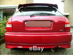 RARE! VTI Rear Lip (abs) for Honda Civic Ek 96-00 3 dr. Type-R Hatch
