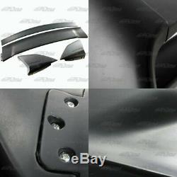 RR Style Black ABS Plastic Rear Trunk Spoiler Wing For 06-11 Honda Civic Sedan