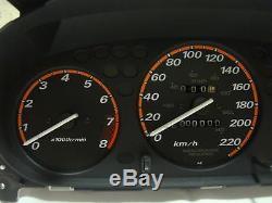 Rare 96-00 cluster real OEM Honda CRV civic SI EM1 EX JDM, EK9, EK4, VTI, Type R