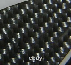 Real Carbon Fiber front fender air vent scoop duct Trim Fit Honda Civic type-R