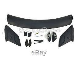 Rear Trunk Wing Spoiler Type R Style For 16-Up Honda Civic Hatchback Body Kit