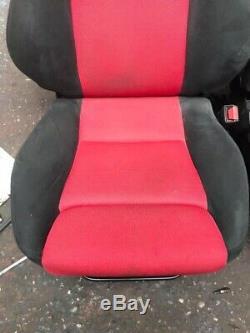 Recaro Premier Edition Bucket Seats Honda Civic EP3 Type R EP2 3 Door