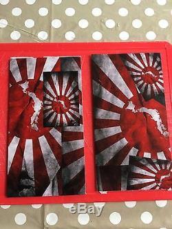 Rising Sun Stickerbomb Battery Cover Honda Civic Type R Integra DC5 EP3 K20 JDM