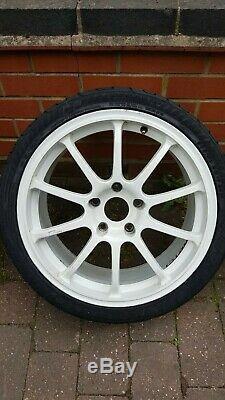 Rota force 17 alloy wheels Civic Type r 5x114.3 Honda Fitment ET48