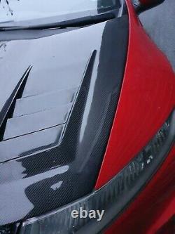 S2K-R RACING Vented Carbon Fibre Bonnet Honda Civic FN2 Type R New Stock
