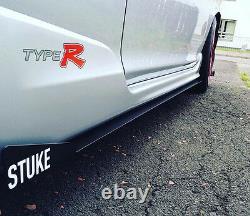 STUKE EP3 Side Skirts with winglets Aero Honda Civic Type r