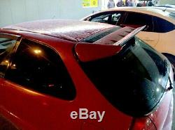 Seeker V2 Spoiler for Honda Civic EK EJ 1996 2000 Rear trunk wing EK9 Type-R