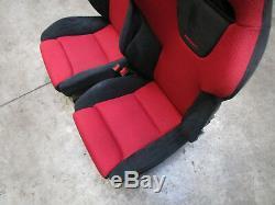 Sitze R + L 30th / Premier Edition Honda Civic EP1 EP2 EP3 Type R Bj 2001- 2007