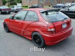 Spoon Spoiler for Honda Civic EK EJ 1996 2000 Rear trunk wing EK9 Type-R