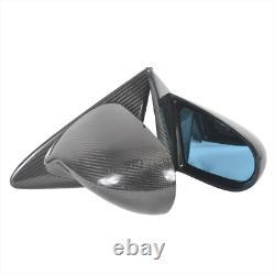 Spoon Style Carbon Fibre Mirrors (manual) For Honda CIVIC Ek Ek4 Ek9 Type R