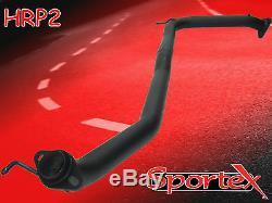 Sportex Honda Civic Type R performance exhaust race tube 2.5 2.0i FN2 2006