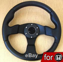 Steering Wheel for HONDA Civic del Sol Prelude Integra CRX Accord Type R EP EK