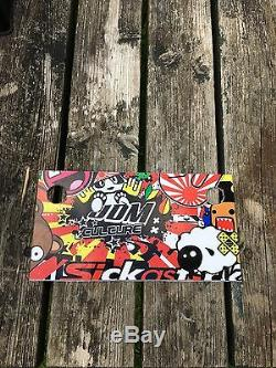Stickerbomb Comic Battery Cover Honda Civic Type R Integra DC5 EP3 K20 JDM