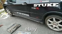 Stuke Aero Pack Honda CIVIC Fn2 Type R Splitter Lip & Side Skirts With Winglets