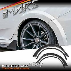 TYPE R Style Rear Fender Guard wheel Arch Flare for Honda Civic FC Bodykits16-20