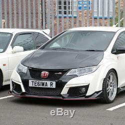 Tegiwa Carbon Fibre Vented Bonnet For Honda CIVIC Type R Fk2